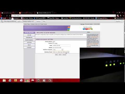Configurando o Moden Technicolor Td5130 Adsl2+