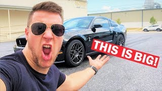 NOBODY REALIZED THIS ABOUT MY NEW GT500... + MY ZR1 IS GETTING MORE POWER!!!