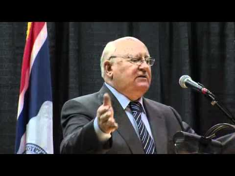 Gorbachev's Speech at University of Wyoming, October 2011