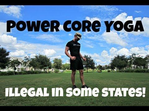 30 min Power Core Yoga Workout - KILLER Weight Loss Workout!
