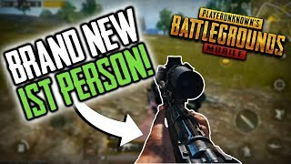 1ST PERSON! | PUBG Mobile Lightspeed | First Person Mode PUBG Mobile!
