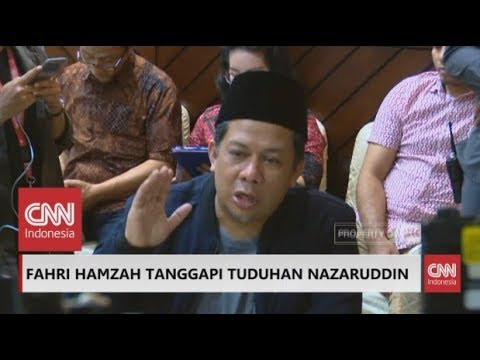 FULL Fahri Hamzah: Nazaruddin Bohong; Ini Skandal Pemberantasan Korupsi KPK