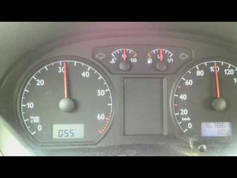 Volkswagen Polo 1.2 2003 - расход топлива