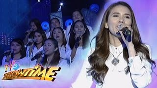Karylle sings I Say A Little Prayer on It