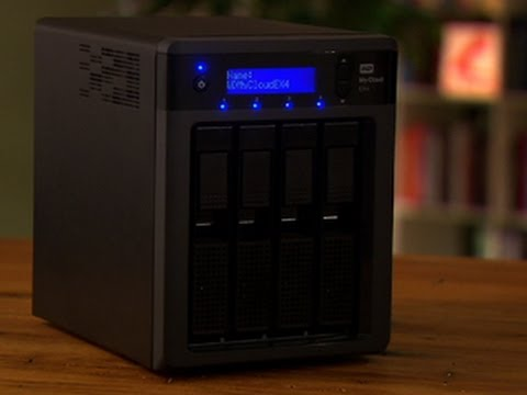 The WD My Cloud EX4 is an excellent NAS for home users