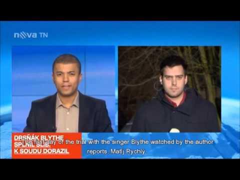 February 4, 2013 Czech News Mocks Randy Blythe As Manslaughter Trial Begins (ENG captions)