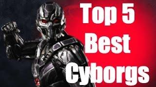 Top 5 Cyborgs In Mortal Kombat