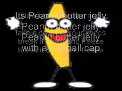 Its Peanut Butter Jelly Time with Lyrics!