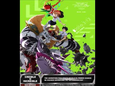 """Toei Animation Finalmente Revelo El Primer Avance De Digimon Adventure Tri """"Determinación"""""""