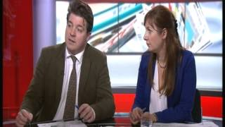 BBC News Channel's Martine Croxall reprimands Susie Boniface for language!