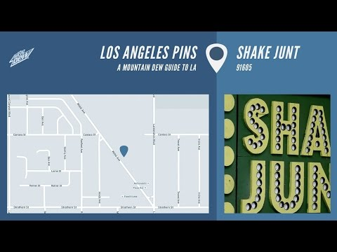 Los Angeles Pins - Shake Junt