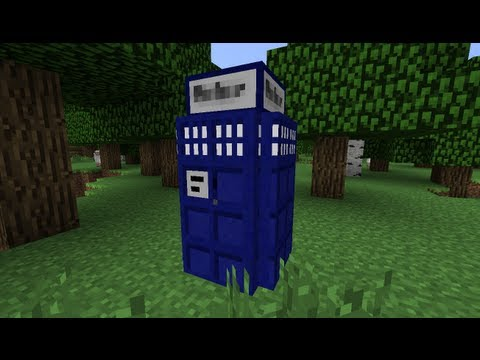 Downloadable Working TARDIS in Minecraft (Fo Reelz)