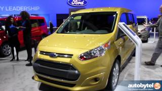 2014 Ford Transit Connect Wagon Car Video Reveal @ 2012 LA Auto Show
