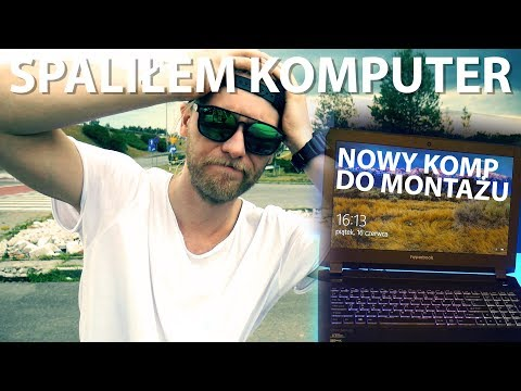 SPALIŁEM KOMPUTER :( | Jaki Komputer Do Montażu Filmów 4k | Treneiro Vlog