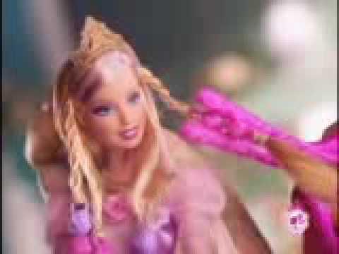 2009 Barbie Cut Amp Style Rapunzel Barbie Doll Commercial