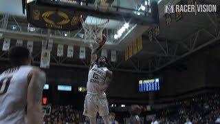 Racer Men's Basketball - 11-16-18 vs Spalding Highlights