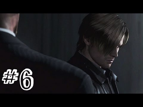 Resident Evil 6 Gameplay Walkthrough Part 6 - THE STAND - Leon / Helena Campaign Chapter 1 (RE6)