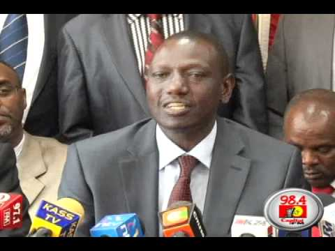 Raila not different from Moi -- Ruto