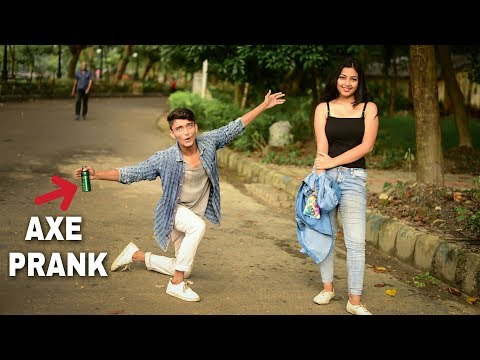 | IMPRESSING HOT GIRLS BY AXE DEODORANT - PRANK - PRANK ON SEXY GIRLS BY AXE DEODORANT |