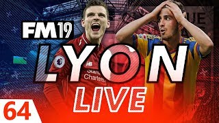 Football Manager 2019 | Lyon Live #64: Left Back Hunting #FM19