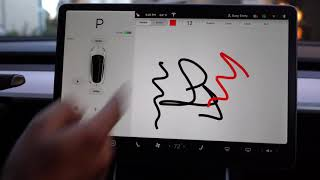 Tesla Model 3: Orientation - Touchscreen