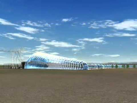 Solar Tower Power Plant - Solar Chimney - Solar Updraft Tower - EnviroMission
