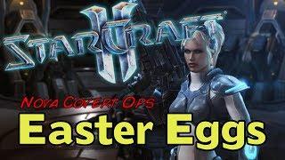 StarCraft II: Nova Covert Ops - Easter Eggs
