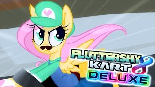 FLUTTERSHY KART 8 DELUXE 🍉  (Funny Moments)