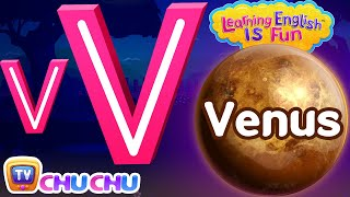 The Letter V Phonics Song – V For Venus - ABC Songs with Sounds for Children – Learning English