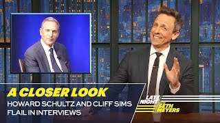 Howard Schultz and Cliff Sims Stumble in Interviews: A Closer Look