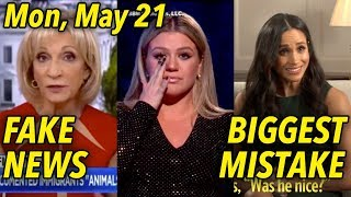 """May 21: MSNBC Lies About """"Animals""""; Kelly Clarkson for Gun Control? Prince Harry's Big Mistake"""