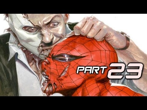 The Amazing Spider Man 2 Game Gameplay Walkthrough Part 23 - Chameleon (Video Game)