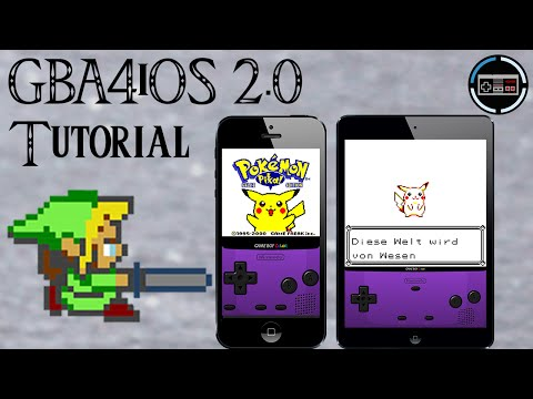 GBA4iOS 2.1 iOS 8.1 Gameboy Emulator - Download. Installation. Gameplay [deutsch/german]