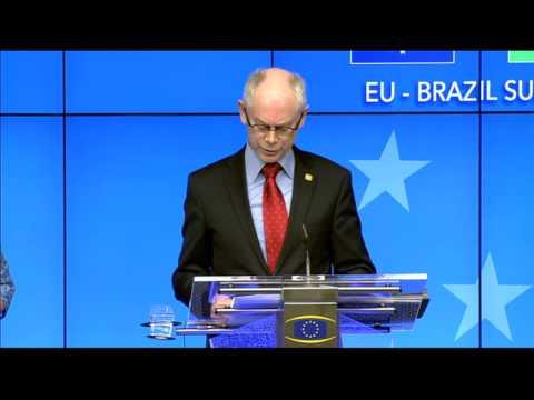 Extract on Ukraine - EU-Brazil Summit