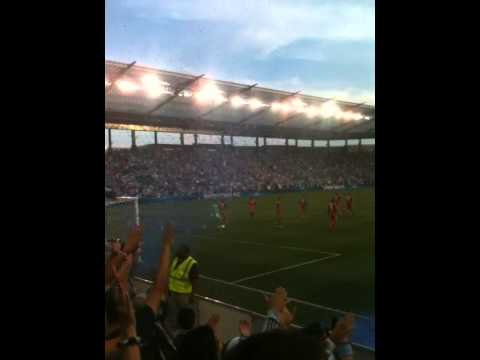 Sporting KC Julio Cesar Goal off Zusi corner kick. June 16th, 2012