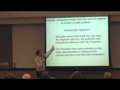 Global Awareness Lecture - Putinism and Russia's Political Dead End