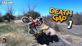 Off-Road Moto Paradise | Crashes on the Death Gap!