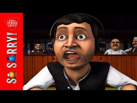 So Sorry: Mama's Boy, Angry Young Rahul video