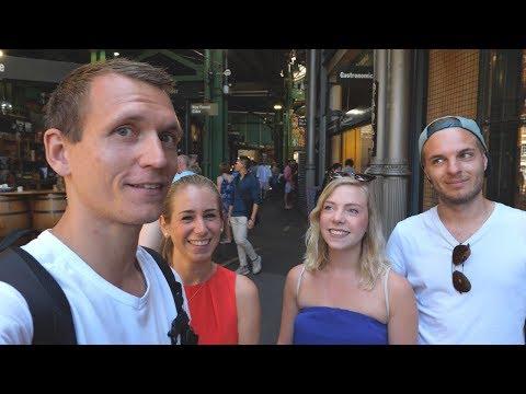 Wiedersehen und lustiger Zufall in London • Borough Market • Weltreise | VLOG #365