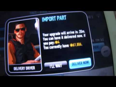How to Get 8500 Gold For Free ! in CSR Racing an iPad 2 Game