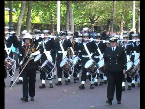 Massed Bands of the Sea Cadet Corps - National Trafalgar Parade 2010 - PART 5