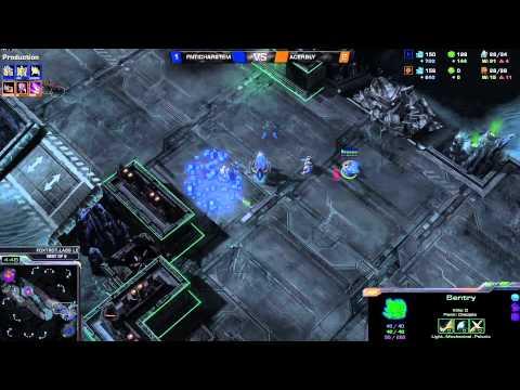 ZvP Bly vs Hartem -g4- Starcraft 2 HD polski komentarz Heart of the Swarm