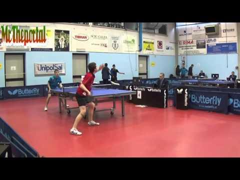 Table Tennis Italian Championships 2016 - Leonardo Mutti Vs Matteo Mutti -