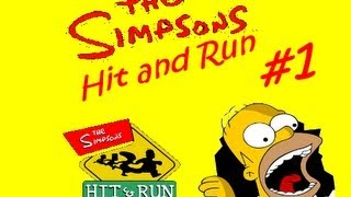 The Simpsons Hit & Run #1 Zacatek CZ LP