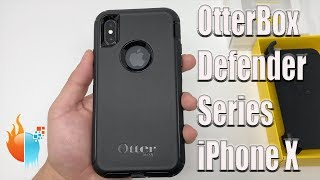 iPhone X OtterBox Defender Series Case Black Review