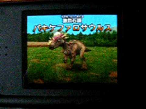 Dinosaur King DS  Pachycephalosaurus Dinosaur King