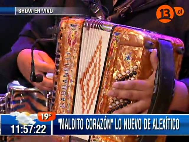 """Alexítico presentando su nuevo éxito """" Maldito corazón """""""