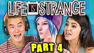 YOU CAN TIME TRAVEL?!?! | LIFE IS STRANGE - Part 4 (React: Gaming)