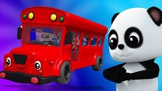 Bánh xe trên xe buýt | vần điệu trẻ | Bao Panda Songs | Nursery Rhymes | The Wheels On The Bus