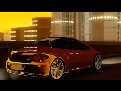 GTA V to SA - Peugeot 307cc BMS Edition Folding Roof (teto dobrável)